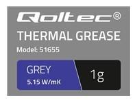 QOLTEC 51655 Qoltec Thermal paste 5.15W/