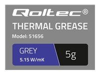 QOLTEC 51656 Qoltec Thermal paste 5.15W/