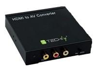 TECHLY 301672 Techly HDMI to RCA composi
