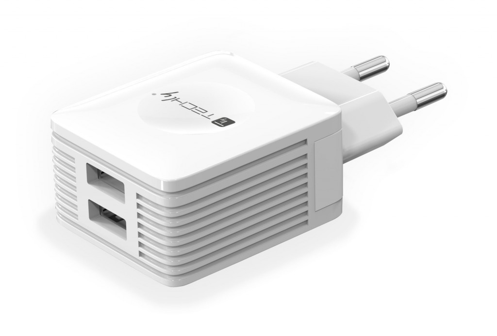 TECHLY 102932 Techly Two ports USB charg