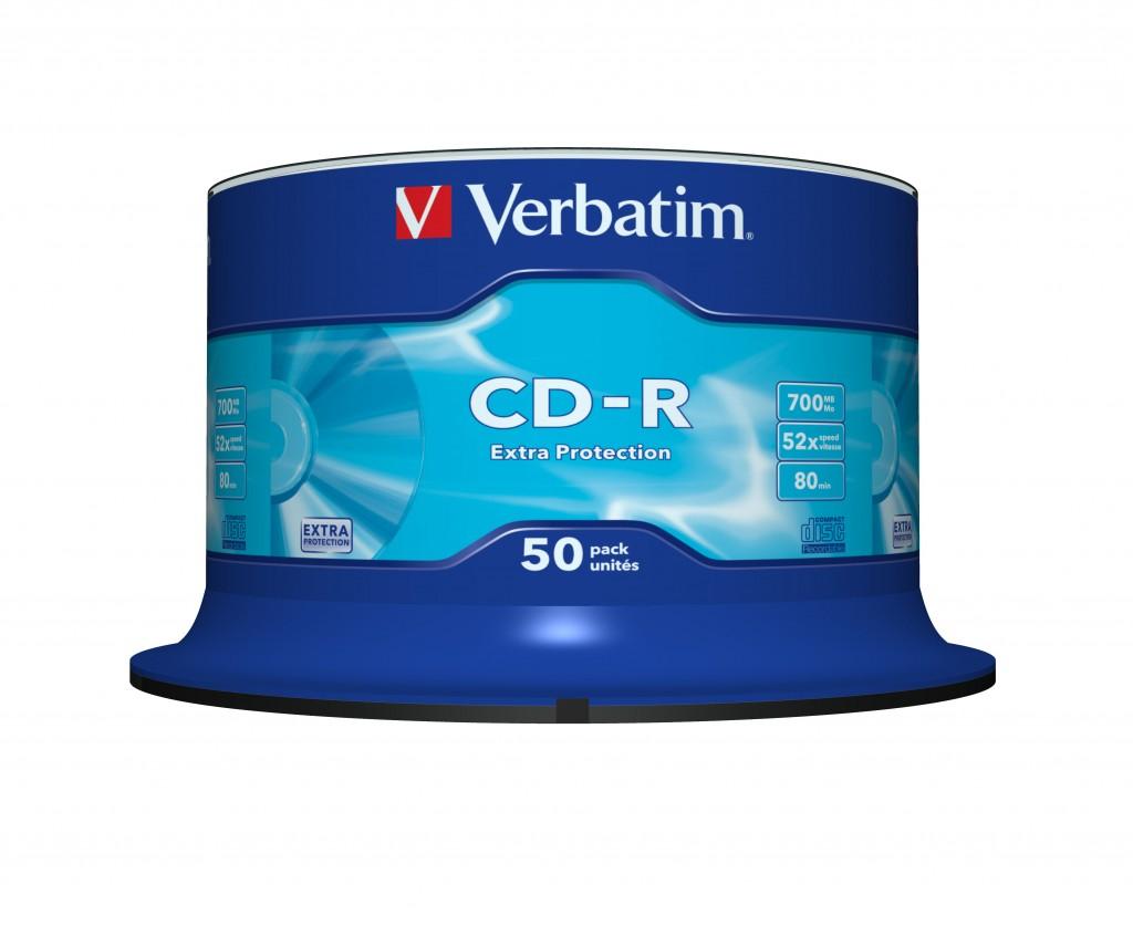 VERBATIM 50x CD-R 700MB 52x SP