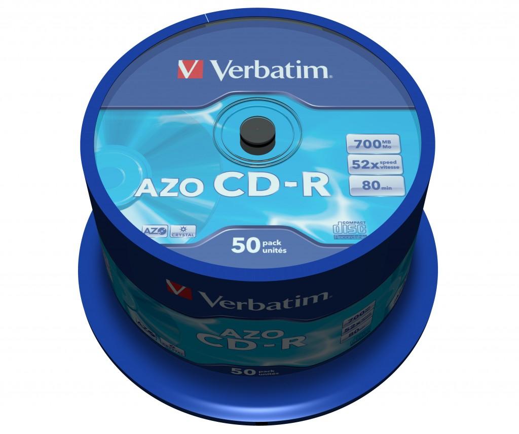 VERBATIM CD-R 80min 700MB 52x50p