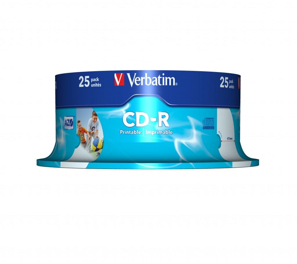 VERBATIM inkjet print.CD-R 80min 700MB