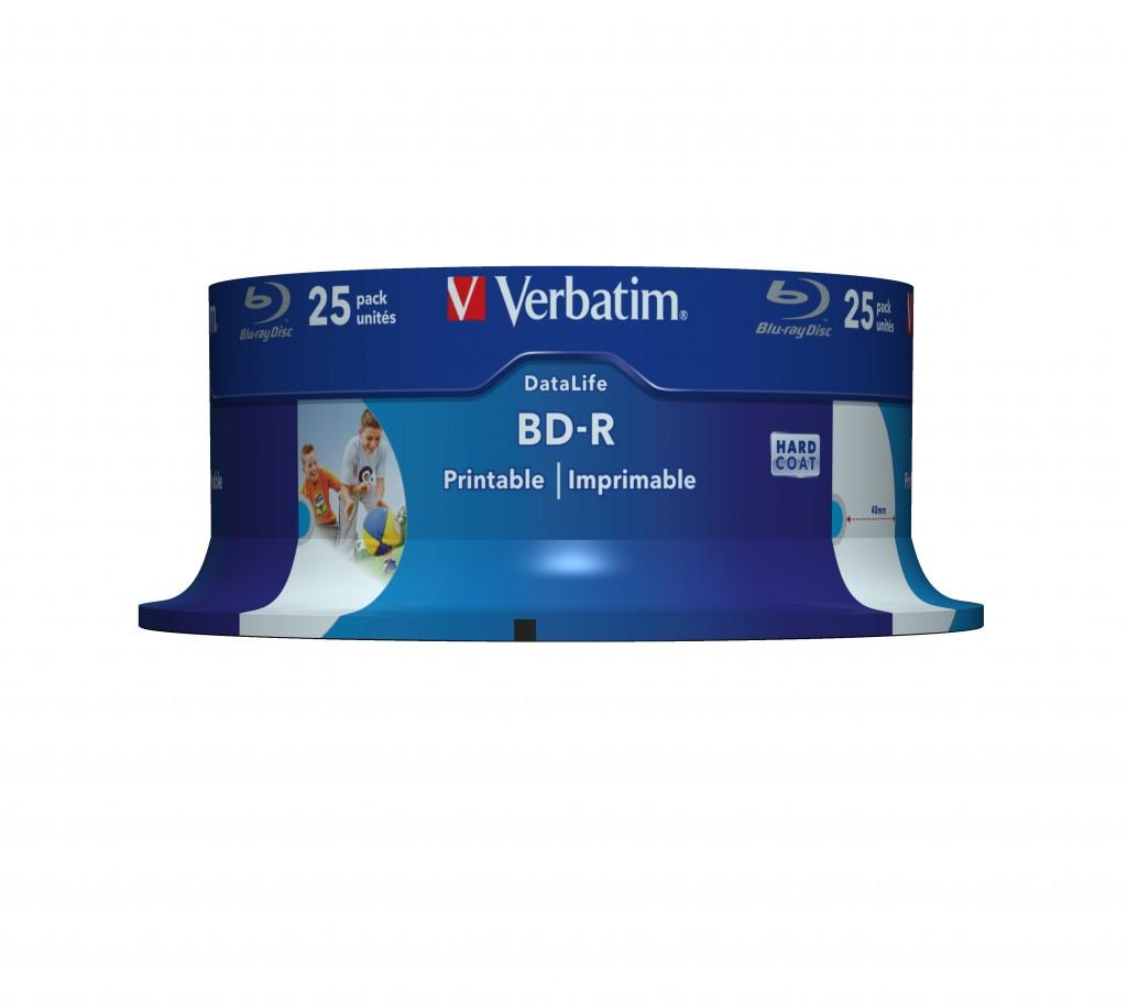 Verbatim 43811 tühi Blu-Ray-plaat BD-R 25 GB 25 tk