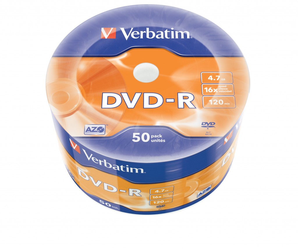 VERBATIM 43788 DVD-R Verbatim wrap 50