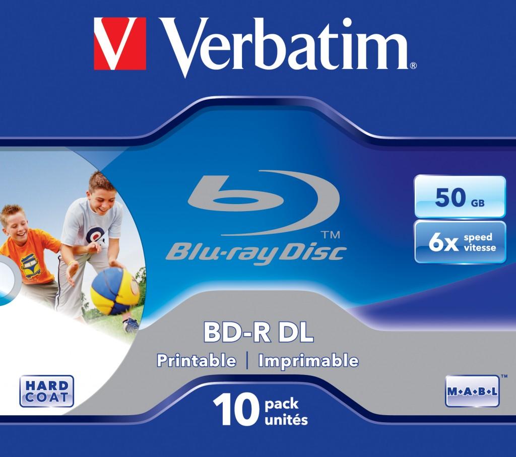 Verbatim 43736 tühi Blu-Ray-plaat BD-R 50 GB 10 tk