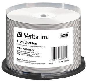VERBATIM 43745 CD-R Verbatim 50pcs, 70