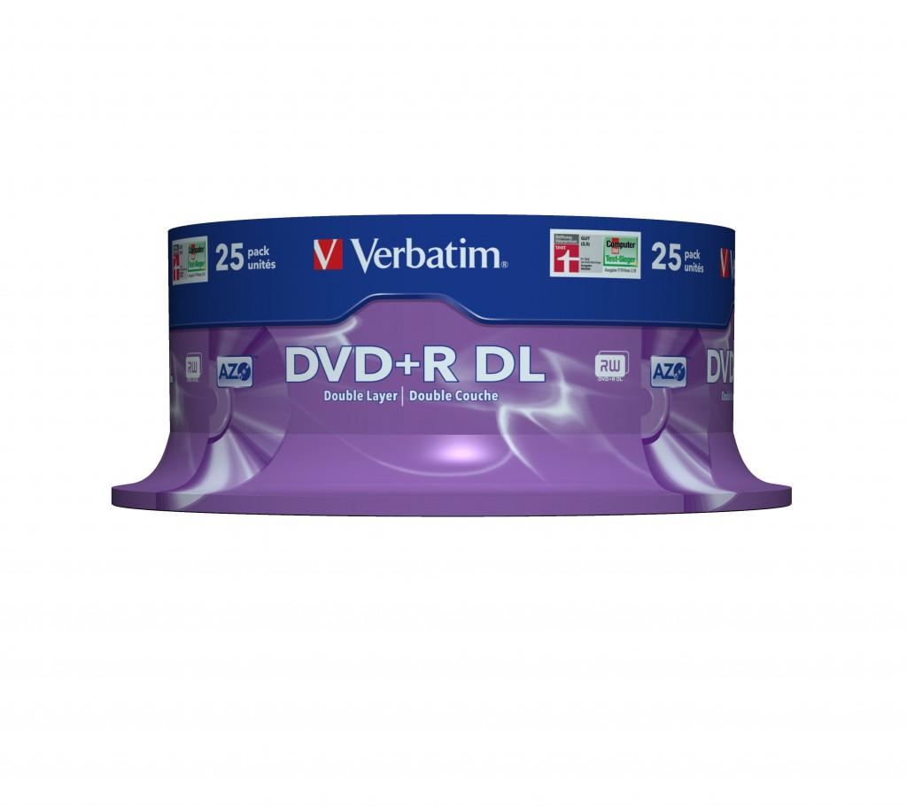 VERBATIM 43757 DVD+R DL Verbatim [ spind