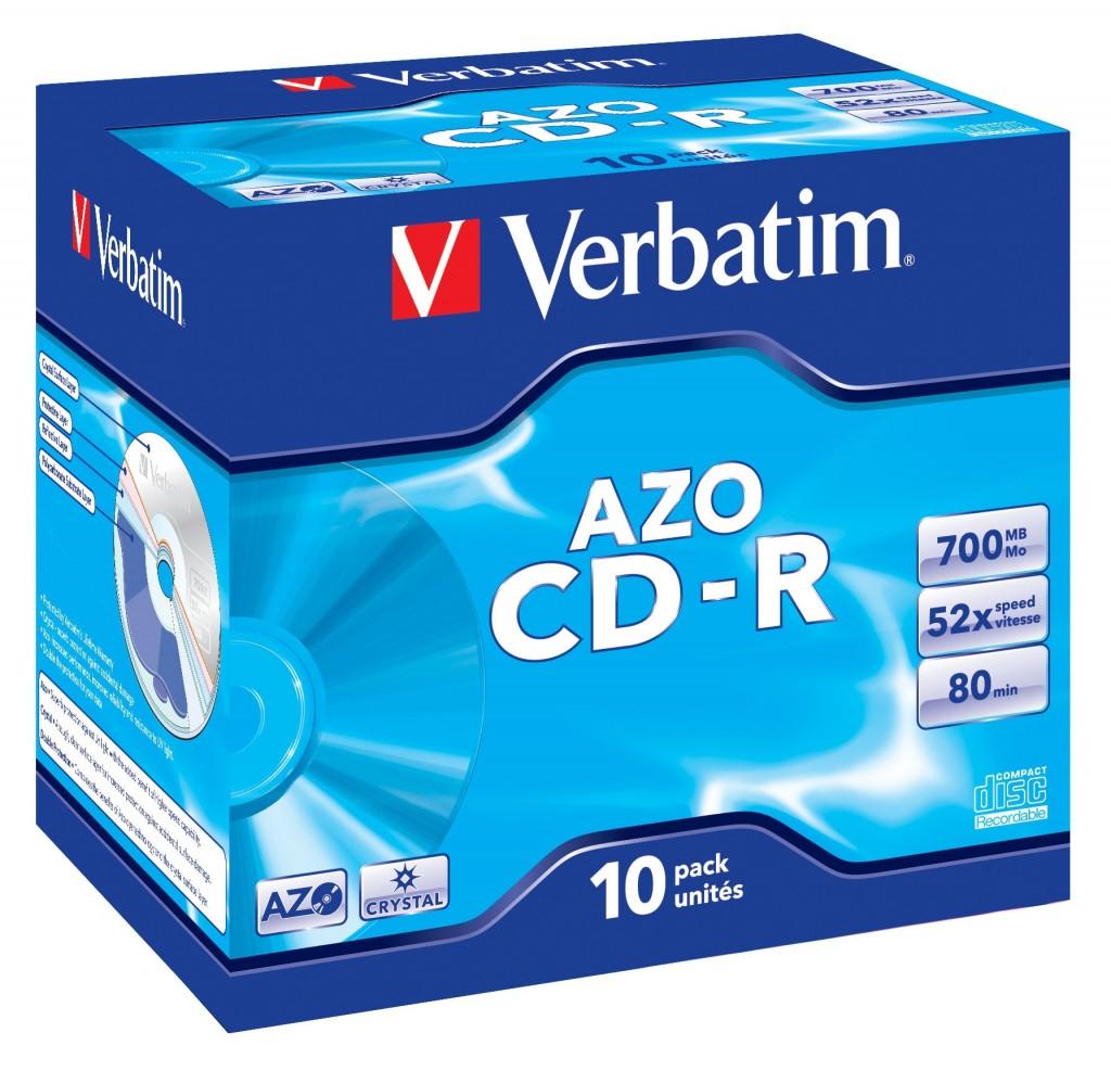 VERBATIM 43327 CD-R Verbatim jewel cas