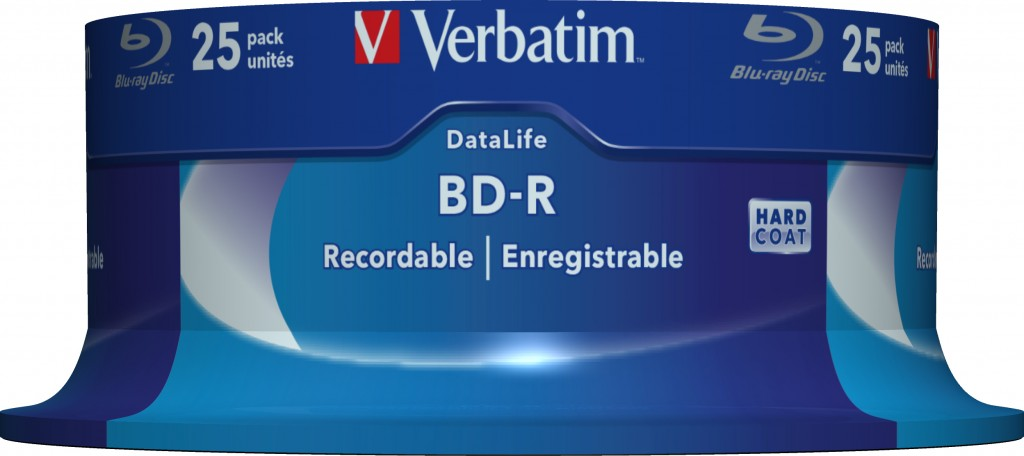 VERBATIM 43837 BluRay BD-R Single layer
