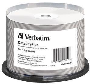 VERBATIM 43781 CD-R Verbatim 50 pcs 7