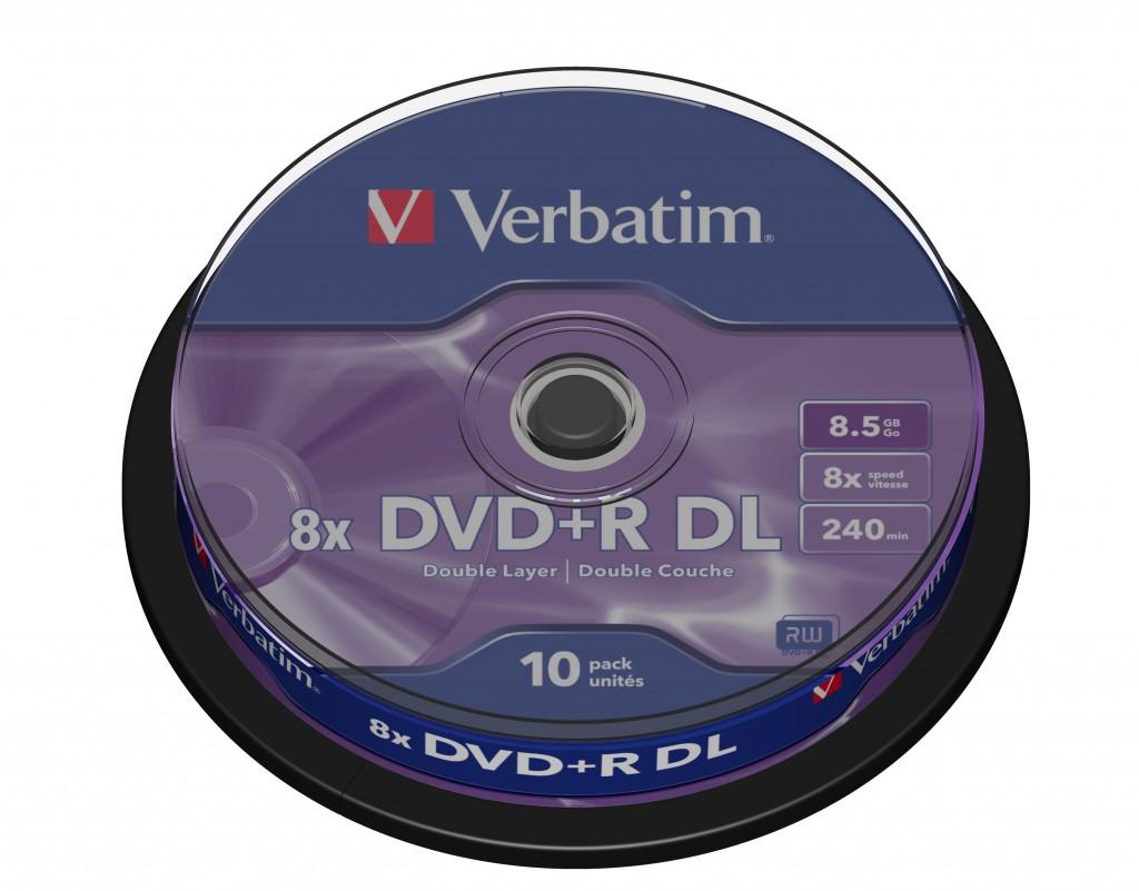 VERBATIM 43666 DVD+R DL Verbatim cake
