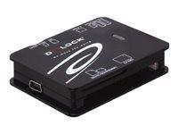 DELOCK CR-USB2.0 ext. Allin1  6xSlots