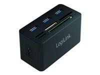 LOGILINK CR0042 LOGILINK - USB 3.0 Hub w