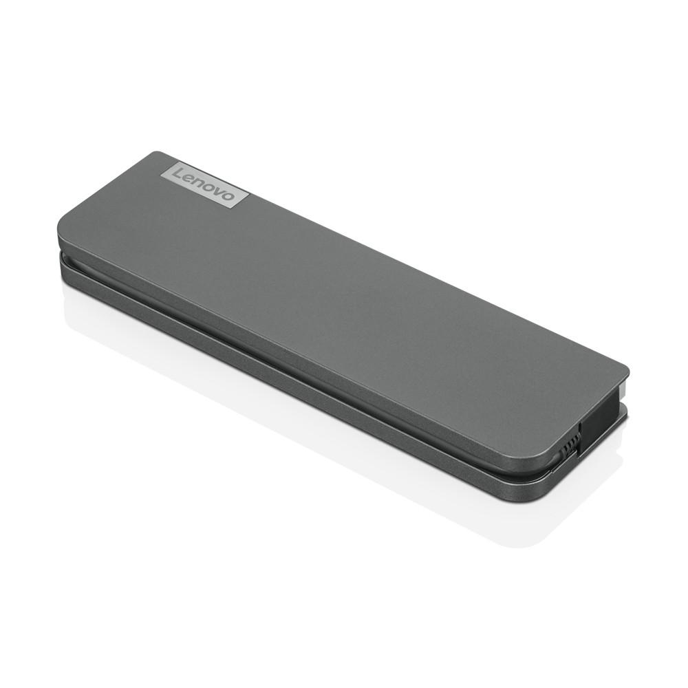 Lenovo USB-C Mini Dock - Overview and Service Parts, max 1 displays, Ethernet LAN (RJ-45) ports 1, USB 3.0 (3.1 Gen 1) ports quantity 1, USB 2.0 ports quantity 1, HDMI ports quantity 1, Ethernet LAN, USB 3.0 (3.1 Gen 1) Type-C ports quantity 1