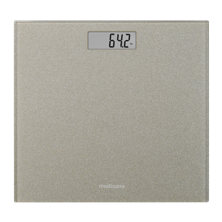Medisana Glass personal scale PS 500 Gold, Auto power off, Maximum weight (capacity) 180 kg