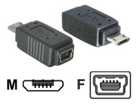 DELOCK Adapt USB micro-B to miniUSB5pin