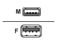 NETRACK 201-01 Netrack AM/AF USB CABLE 0