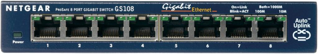 NETGEAR 8xRJ45 10/100/1000 GBit
