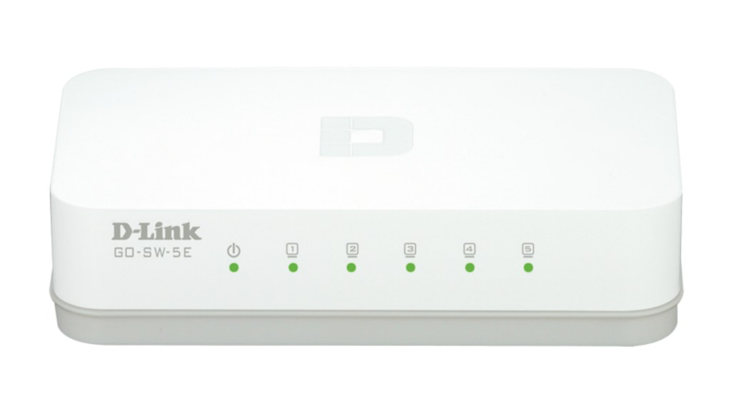 DLINK 5-Port Easy Desktop Switch