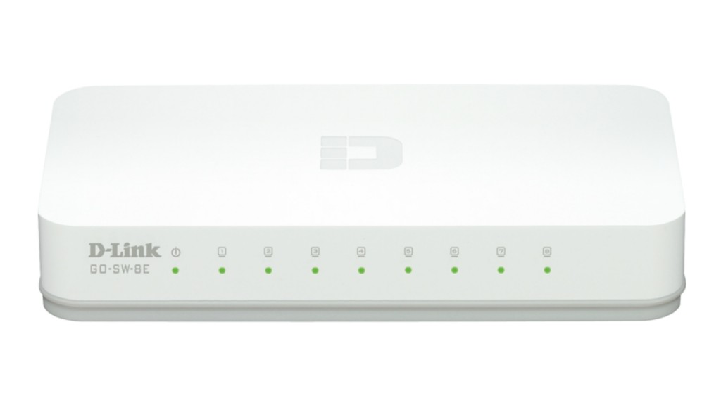 DLINK 8-Port Easy Desktop Switch