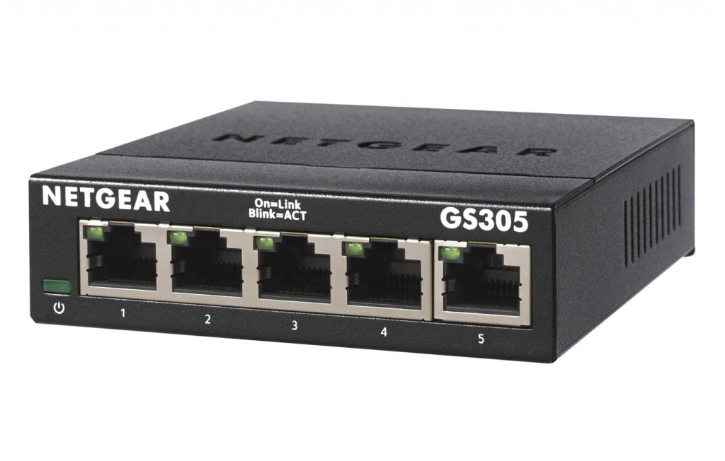 NETGEAR 5PT Gigabit Ethernet Unmanaged