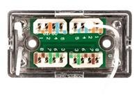 NETRACK 106-62 Netrack cord coupler Kron