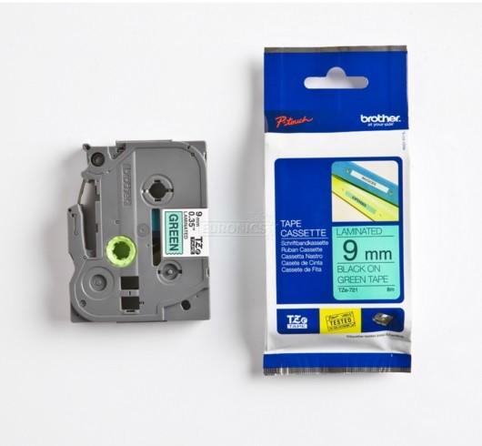 Markeerimislint Brother TZE-555, 24mm valge/sinisel