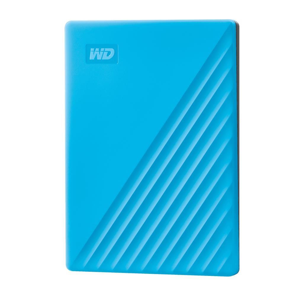 External HDD|WESTERN DIGITAL|My Passport|2TB|USB 2.0|USB 3.0|USB 3.2|Colour Blue|WDBYVG0020BBL-WESN