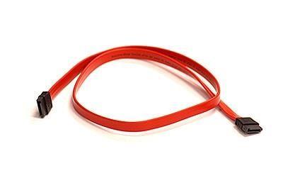Supermicro SATA Cable (2Ft.) SATA-kaabel 0,6 m Punane