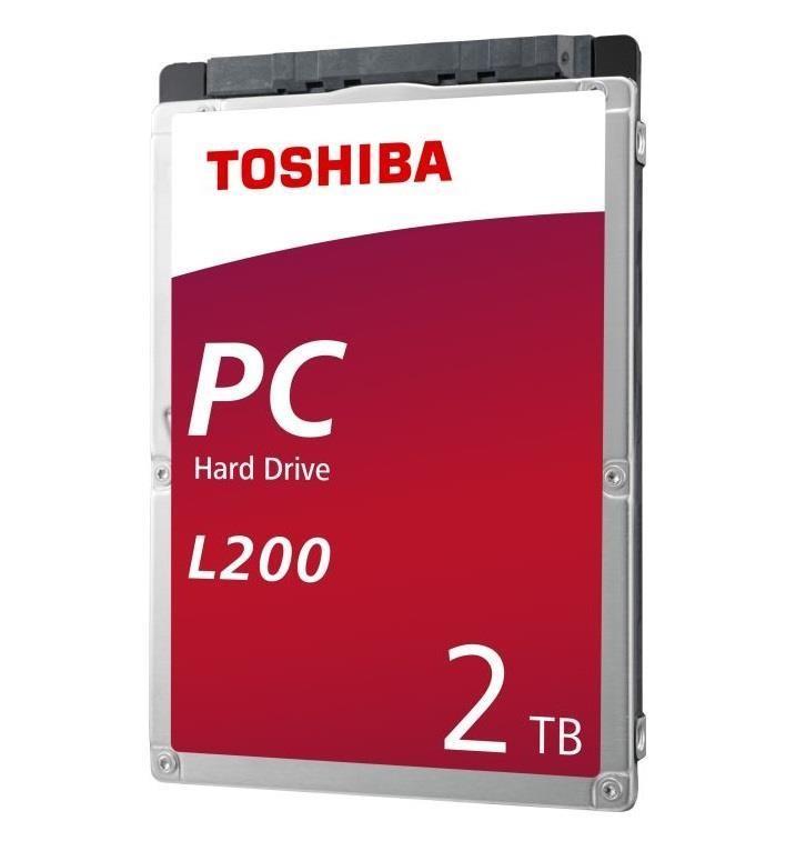 """Toshiba L200 2.5"""" 2000 GB Jada ATA III"""