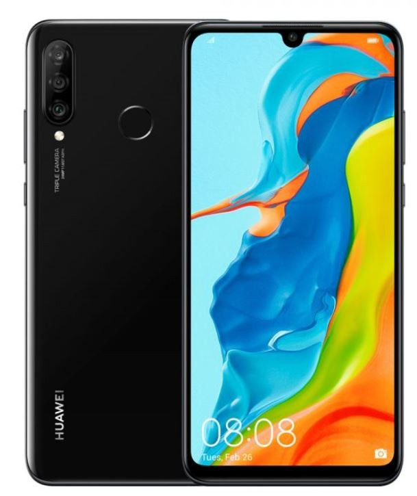 "Huawei P30 Lite Black, 6.15 "", LTPS IPS LCD, 1080 x 2312 pixels, Kirin 710, Internal RAM 4 GB, 128 GB, microSDXC, Dual SIM, Nano-SIM, 3G, 4G, Main camera Triple 48+8+2 MP, Secondary camera 24 MP, Android, 9.0, 3340 mAh"