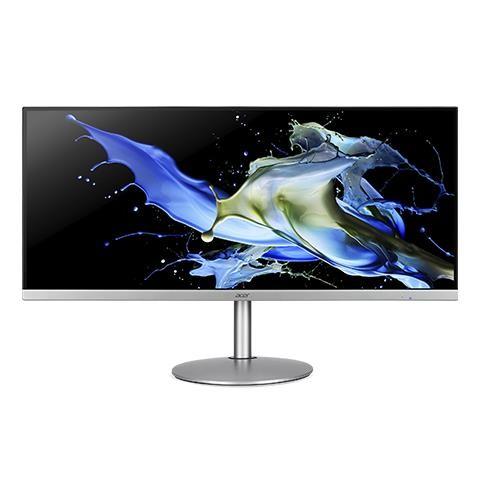 "Acer CB2 CB342CKsmiiphzx 86,4 cm (34"") 3440 x 1440 pikslit 4K Ultra HD LED Must, Hõbe"