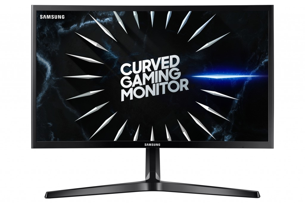 "Samsung C24RG50FQU 59,7 cm (23.5"") 1920 x 1080 pikslit Full HD Must"