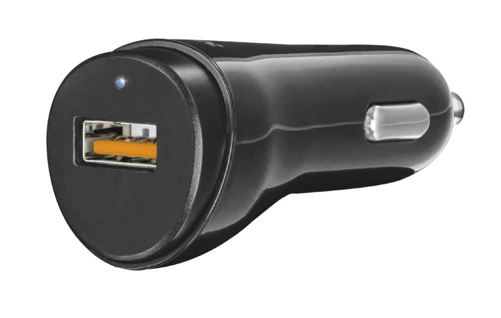 Trust 21819 mobiilseadme laadija Must Automaatne