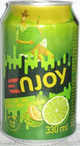 Gaseeritud jook CIDO Enjoy sidrun-laim, 330 ml purk