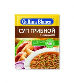 Seenesupp GALLINA BLANCA nuudlitega, 52 g