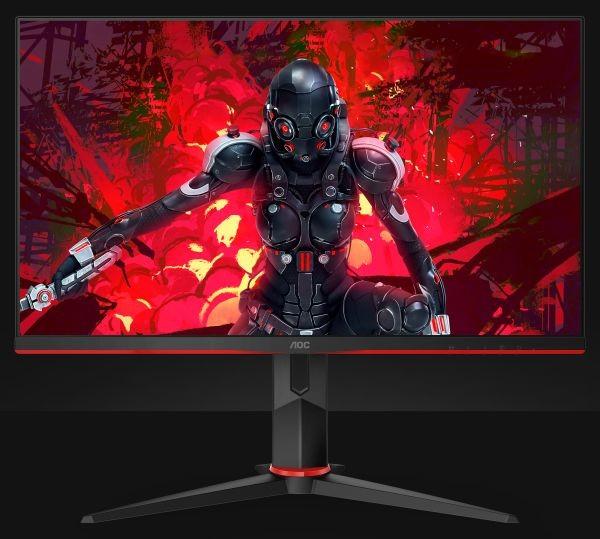 "AOC Gaming Monitor 27G2U5 27 "", IPS, FHD, 1920x1080 pixels, 16:9, 1 ms, 250 cd/m², Black"