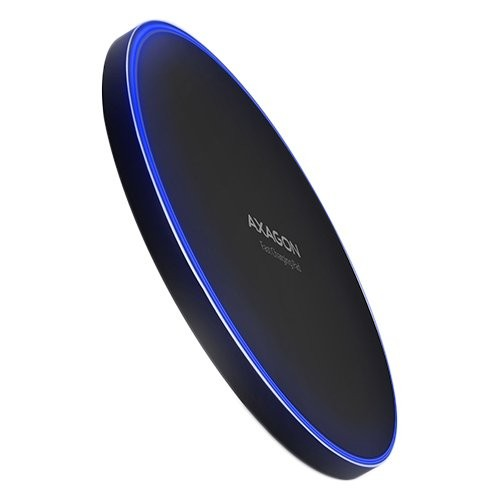 AXAGON WDC-P10T thin Wireless Fast Charging Pad, Qi 5/7.5/10W, micro USB