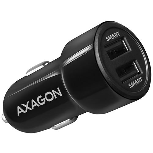 AXAGON PWC-5V5 car charger Smart 5V 2,4A + 2,4A, 24W, black