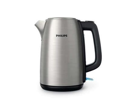 Philips Daily Collection Metallvedruga kaas Märgutuli 1,7-liitrine veekeetja