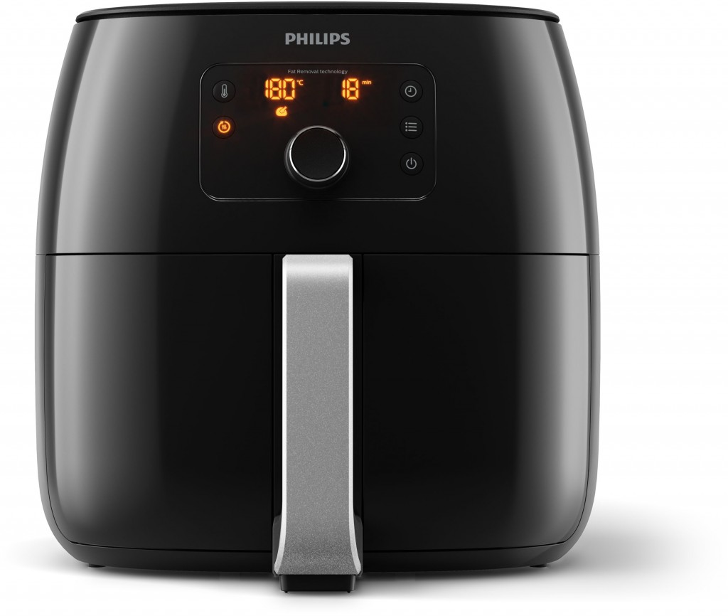 Philips Premium Airfryer XXL HD9650/90 Power 2225 W, Capacity 7.3 L, Degreasing technology, Black