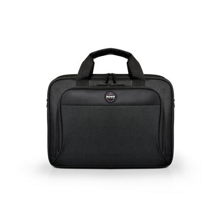 "PORT DESIGNS HANOI II CLAMSHELL 105064 Fits up to size 15.6 "", Black, Shoulder strap, Messenger - Briefcase"