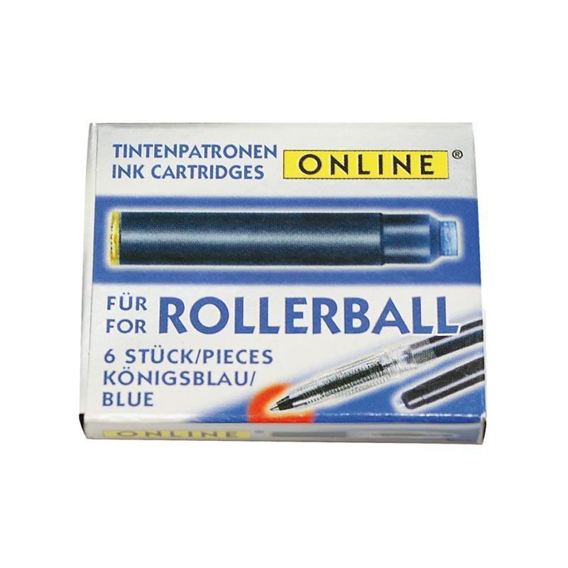 Tindiballoonid ONLINE, sinine, 12 tk