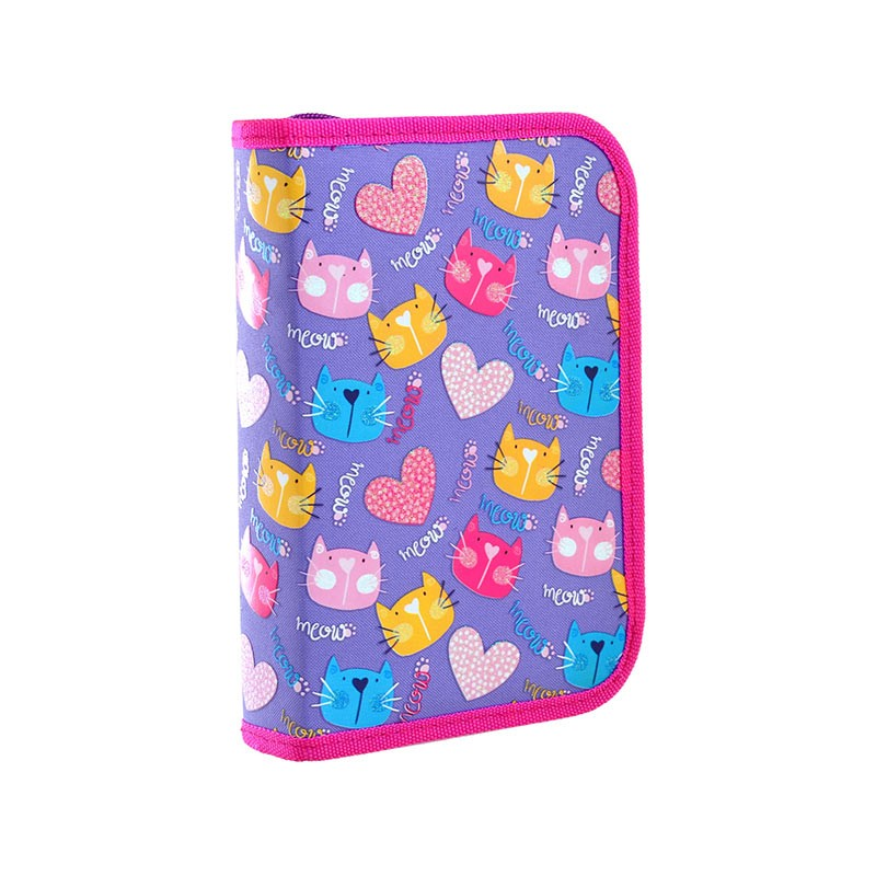 Pinal YES HP-04 Loving Cats,  20,5 x 13,5 x 4 cm, lilla