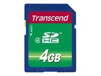 TRANSCEND 4GB SDHC Card Class 4