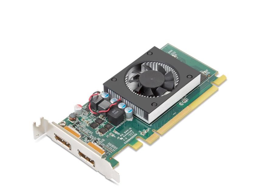Lenovo AMD, 2 GB, Radeon 520, GDDR5, PCIE 3.0 x 8, Processor frequency 905 MHz, Memory clock speed 1250 MHz