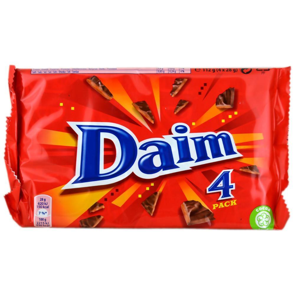 Šokolaadibatoon DAIM 4 x 28 g