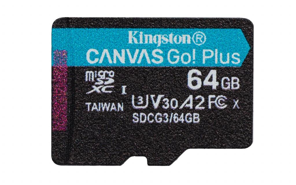 KINGSTON 64GB microSDXC Canvas Go Plus 1