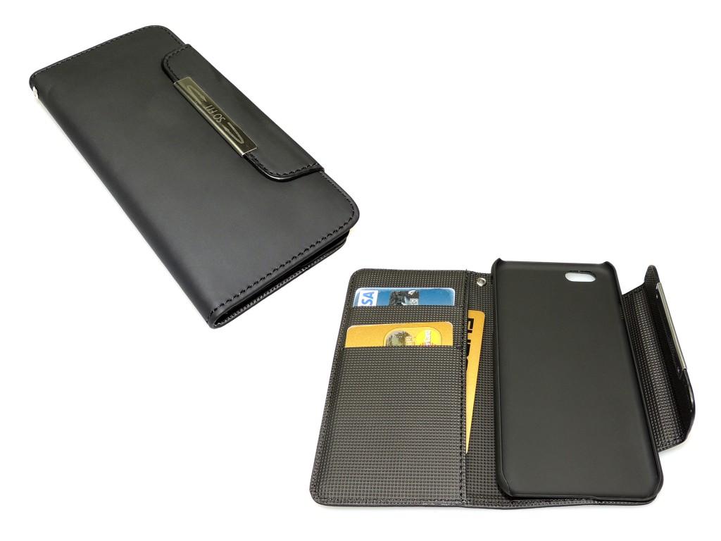 "Sandberg Flip wallet iPhone 6 Blackskin mobiiltelefoni ümbris 11,9 cm (4.7"") Rahakotiümbris Must"